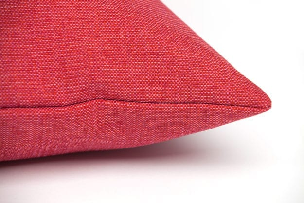 Classic Twist Cushion in Cerise