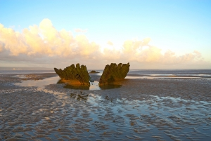 SS Nornen Ship Wreck, Berrow, Somerset, UK