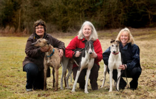 Greyhound Trust volunteers