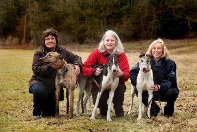 Greyhound Trust volunteers
