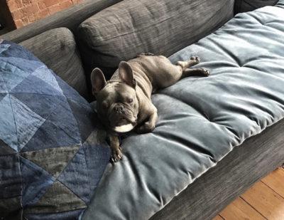 Rocky sofa topper